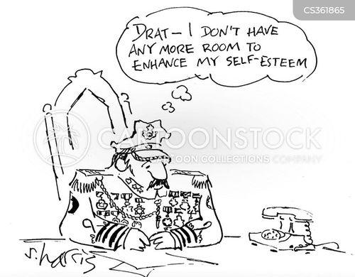 military dictators cartoon