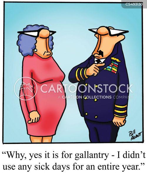 gallantry cartoon