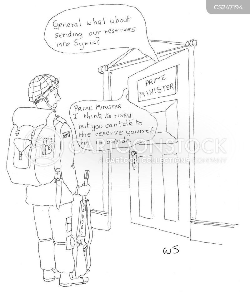 reserve forces cartoon