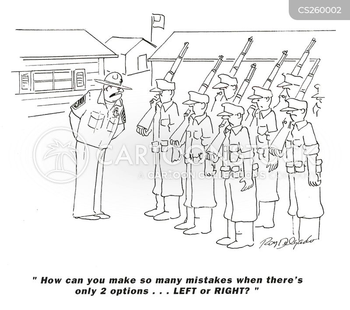 military parade cartoon