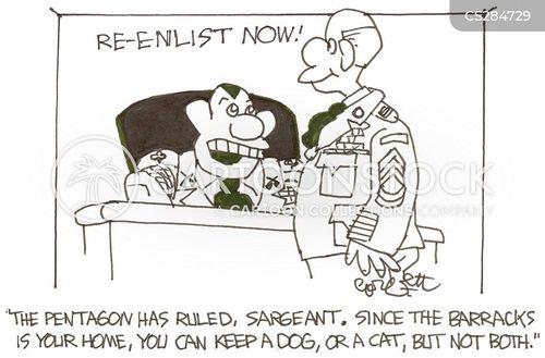 barrack cartoon