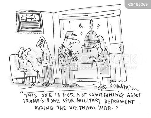 military draft cartoon