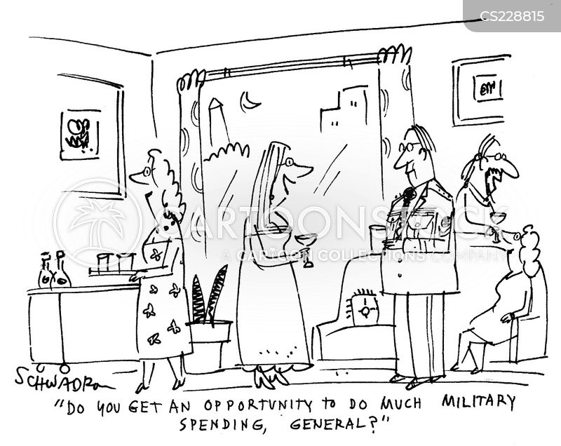 army generals cartoon
