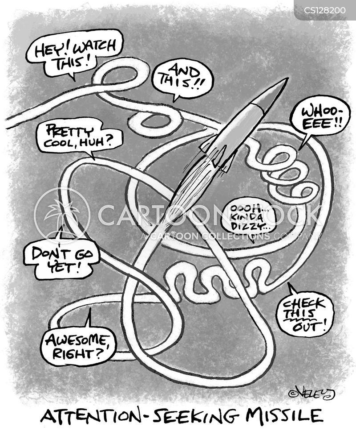 center of attention cartoon