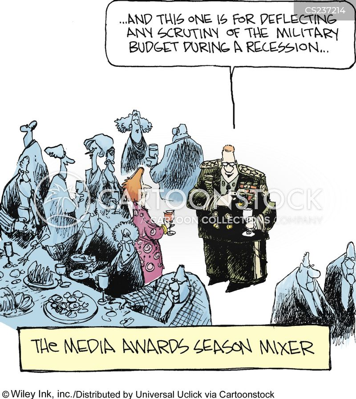 military budget cartoon