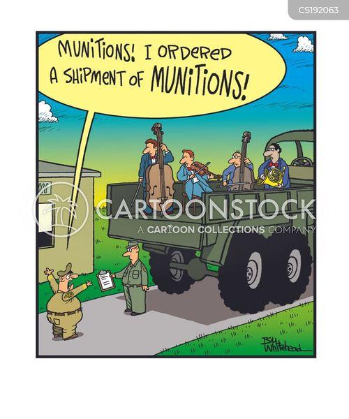 munitions cartoon