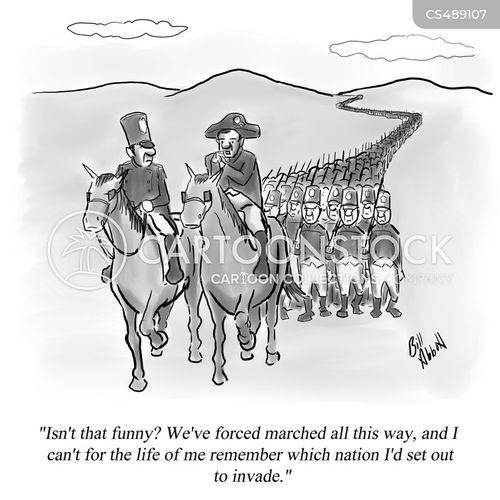 napoleonic war cartoon