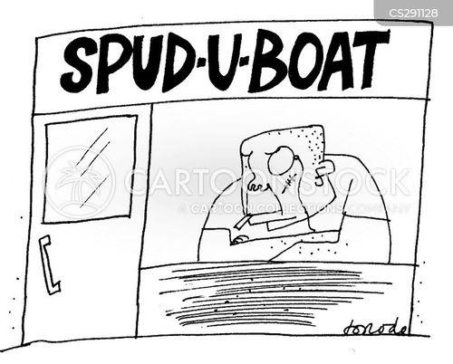 u-boats cartoon