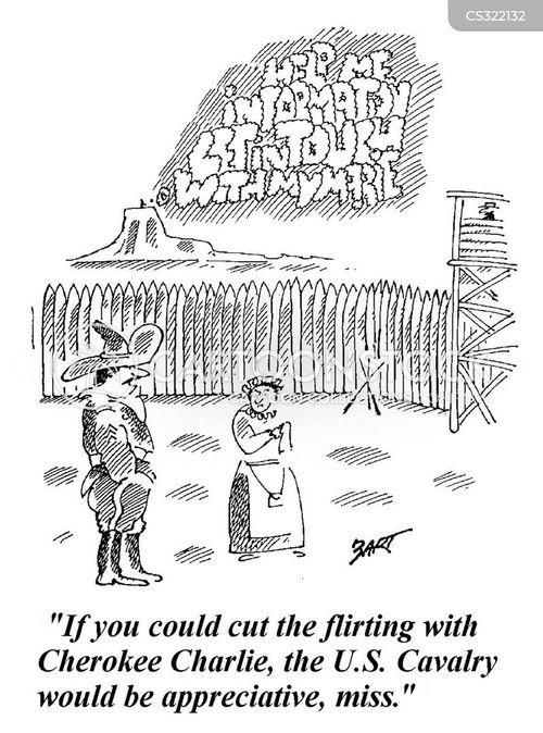 western frontier cartoon