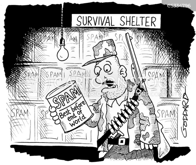 nuclear shelter cartoon