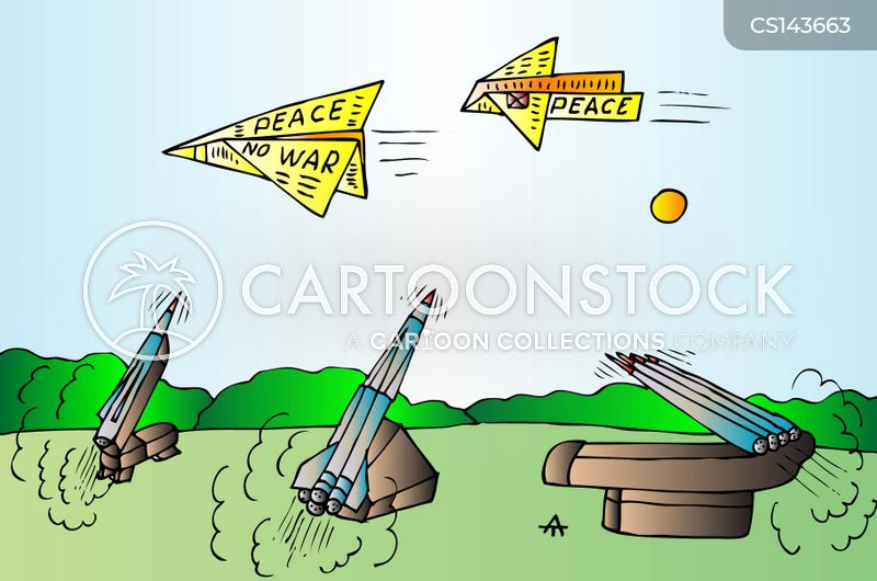 anti war cartoon
