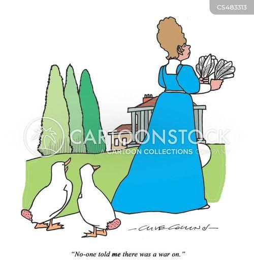 plucks cartoon