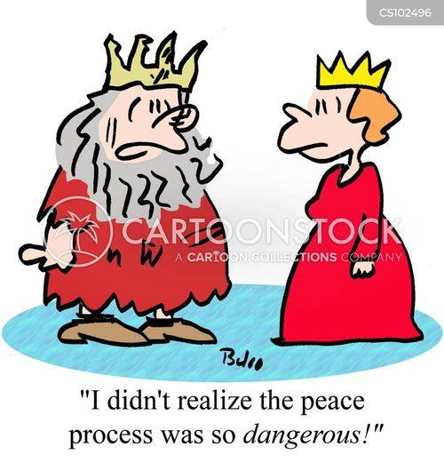 peace processes cartoon