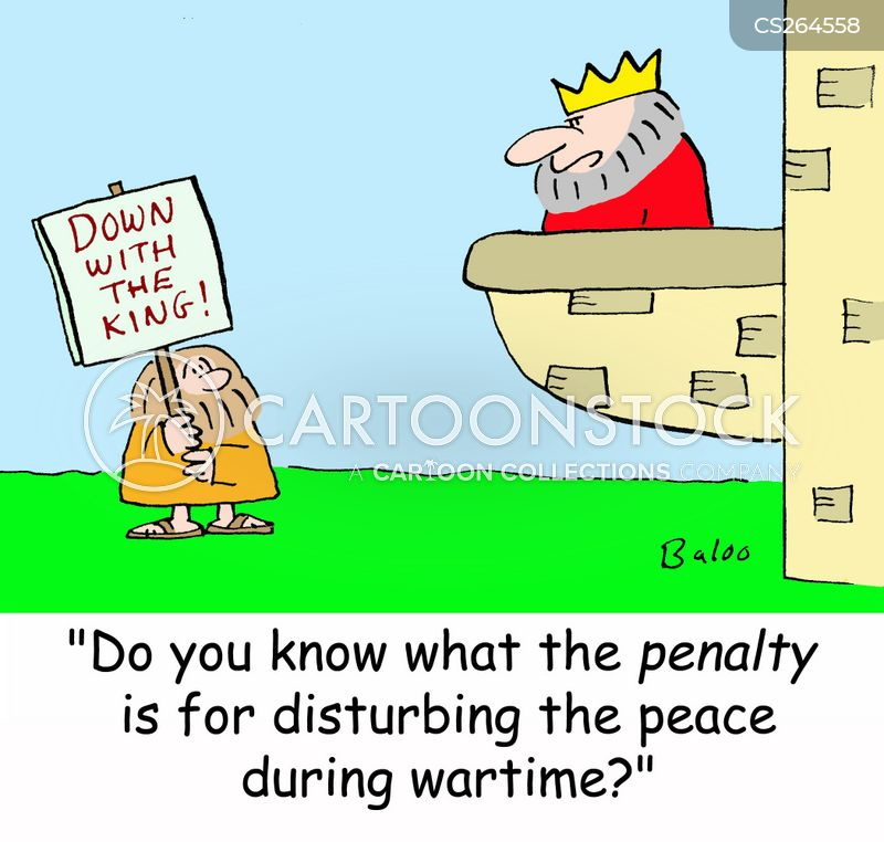 peacetime cartoon
