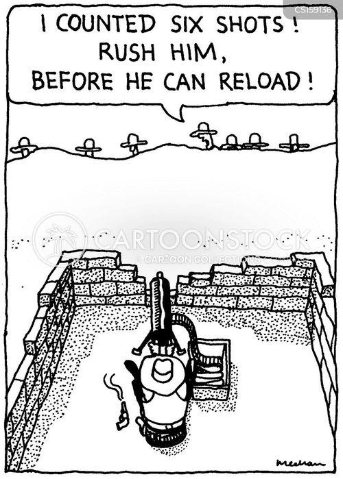 reloading cartoon