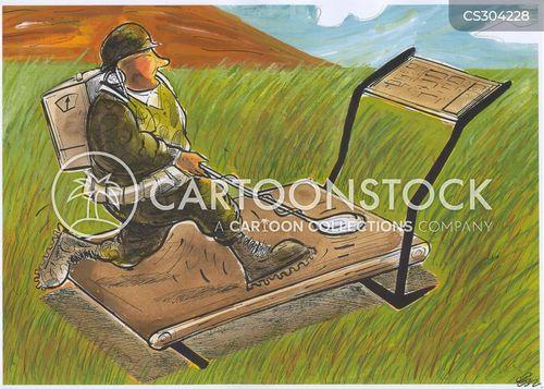 mine fields cartoon
