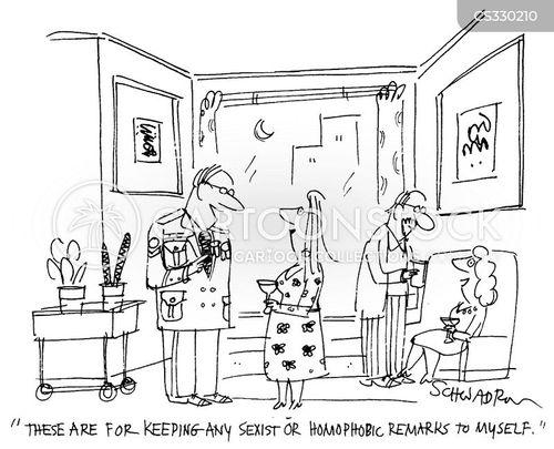 self-discipline cartoon