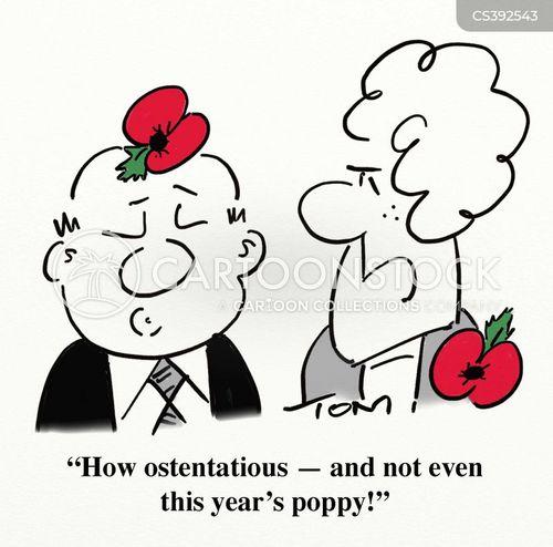 poppies cartoon