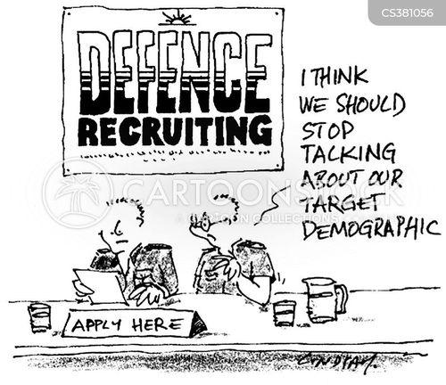 target demographics cartoon