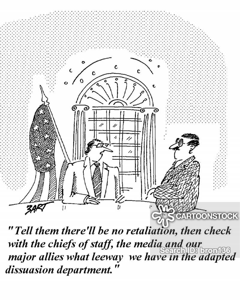retaliate cartoon