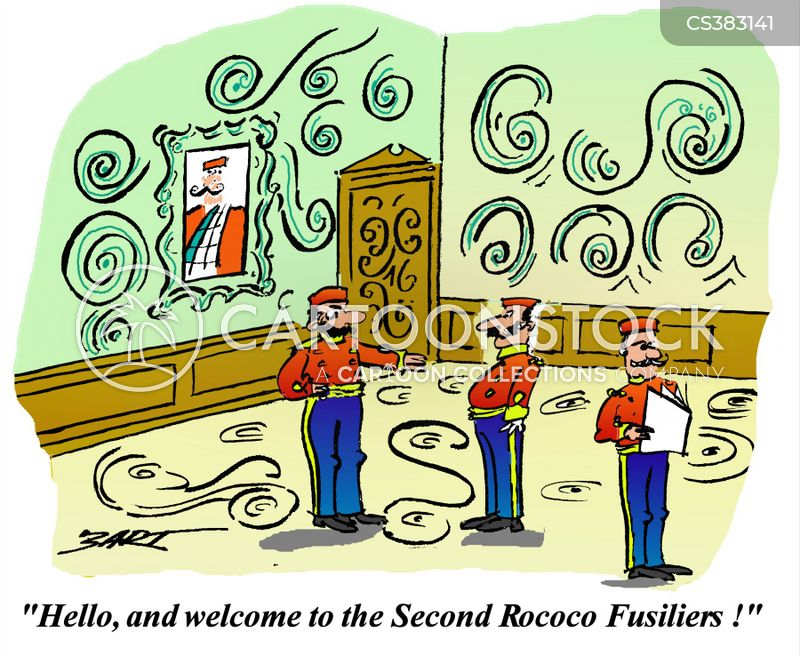 fusilier cartoon