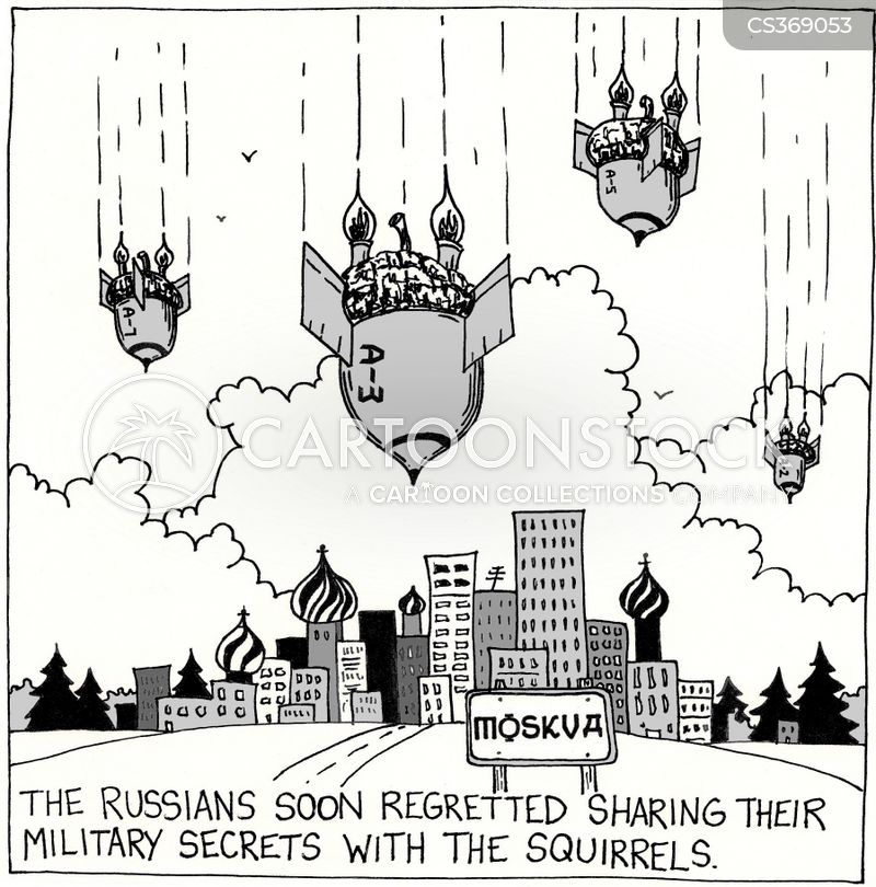 moscow cartoon