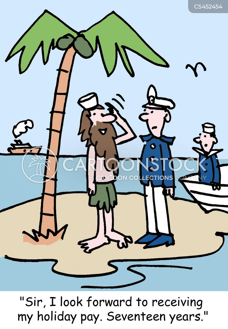 naval officers cartoon