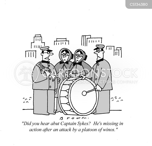 platoons cartoon