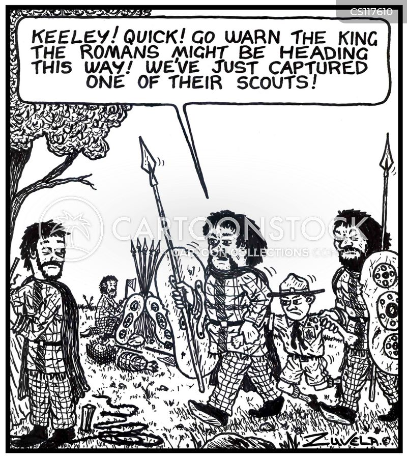 celtic cartoon
