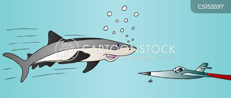 fish out of water cartoon
