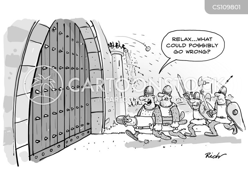 fortifications cartoon