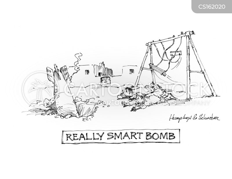 weapons technology cartoon