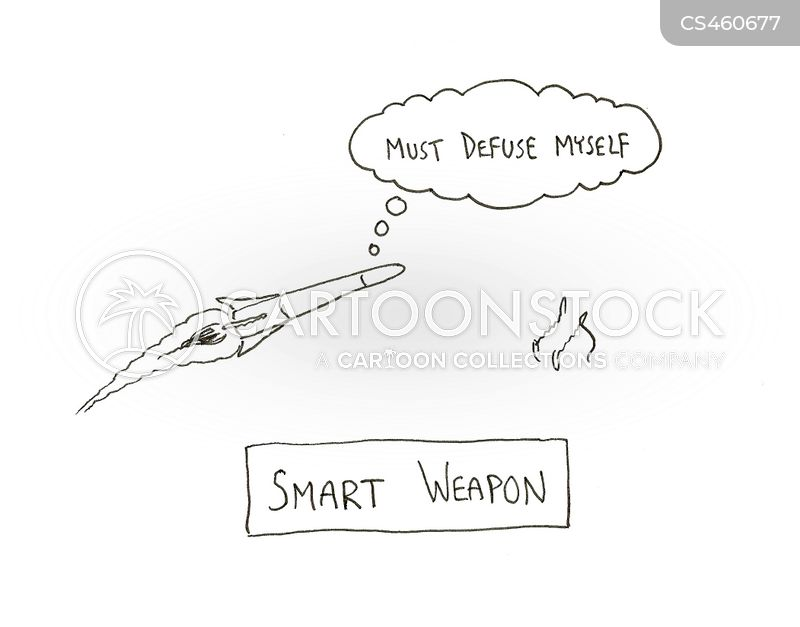 military technology cartoon