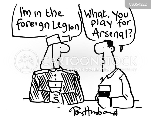 foreign legion cartoon