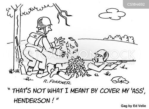 combat cartoon