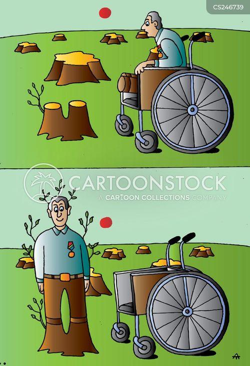 peg-legs cartoon