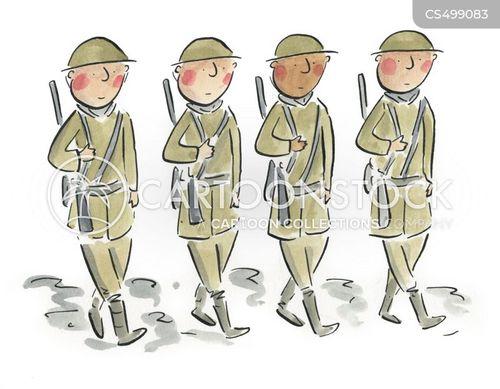 armistice cartoon
