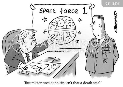 space force cartoon