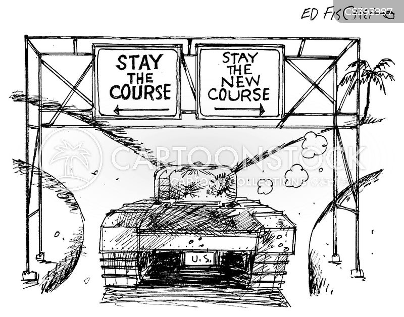 military actions cartoon