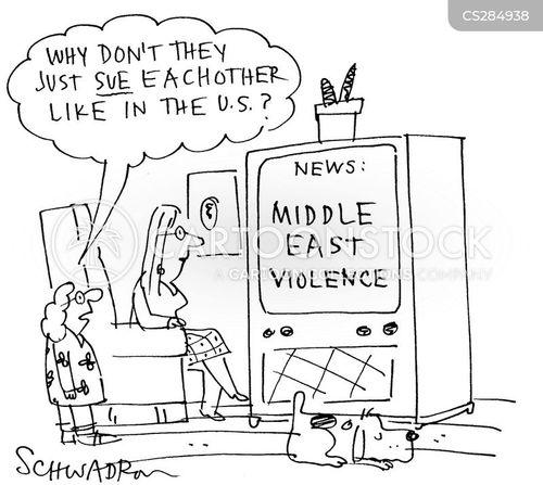 getting sued cartoon