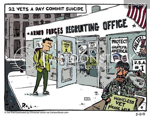 suicide rates cartoon