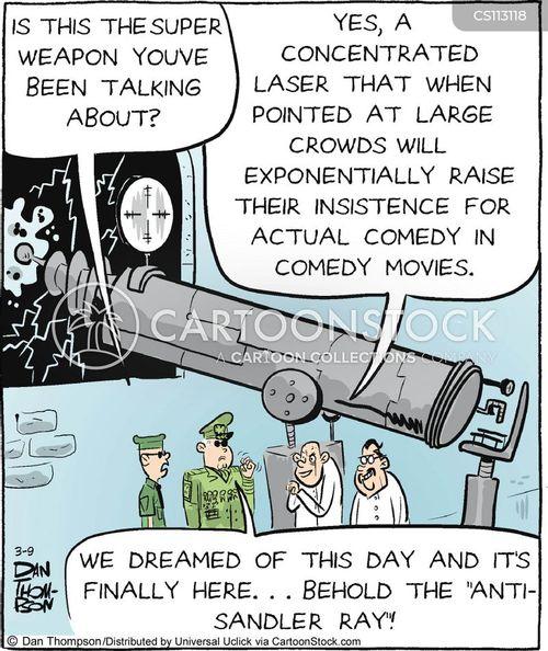 weapon development cartoon