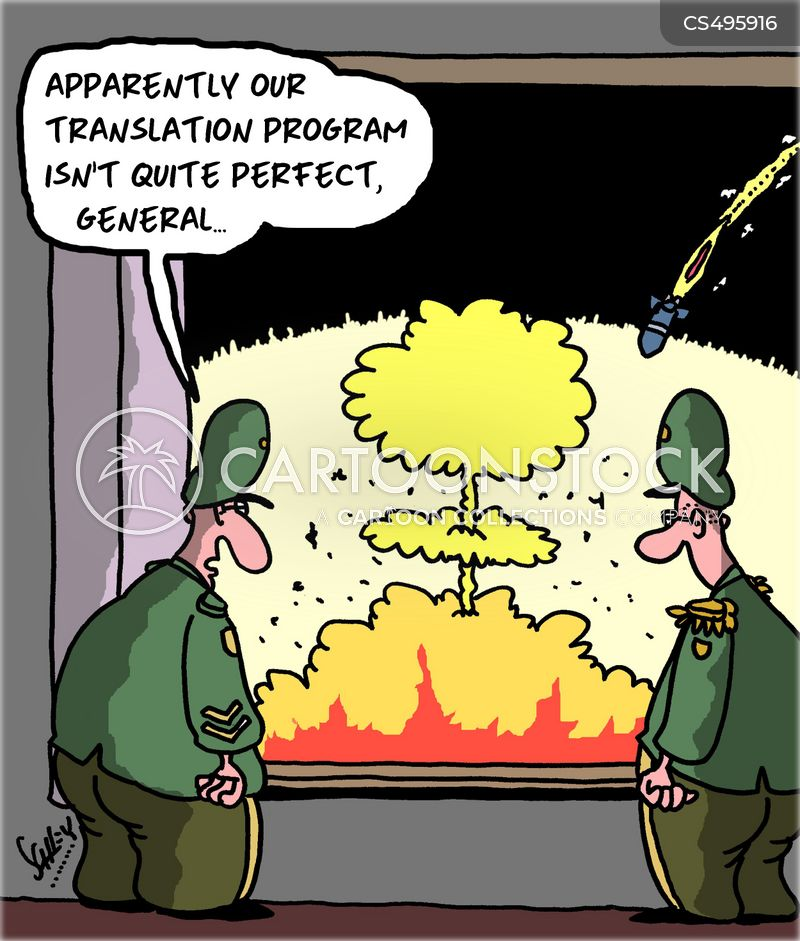 translation apps cartoon