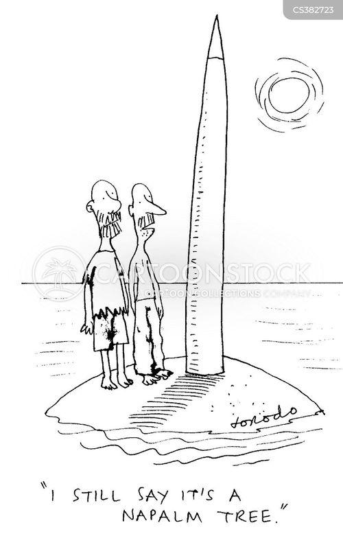 napalm cartoon