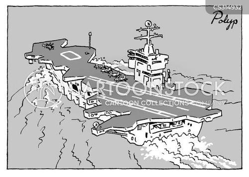 military base cartoon