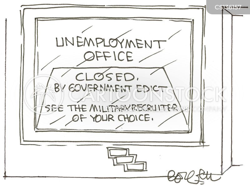 military recruitments cartoon