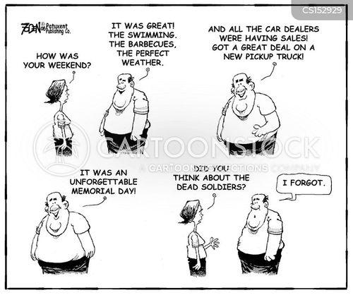 rememberance cartoon