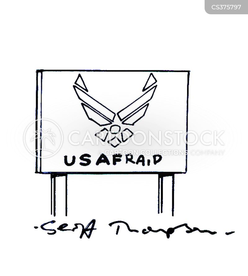 united states air force cartoon