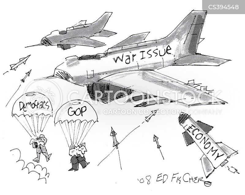 military funding cartoon