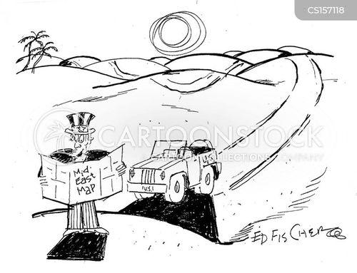 interventionism cartoon